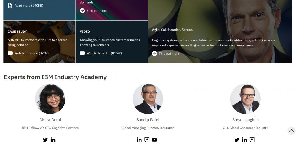 b2b examples of content marketing ibm