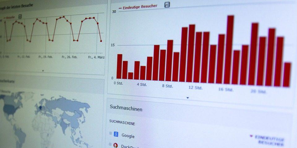 Higher Education Technology Charts Screenshot