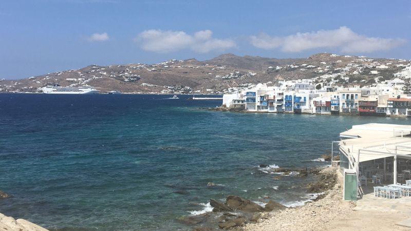 Image of Ocean View Homes and Blue Ocean