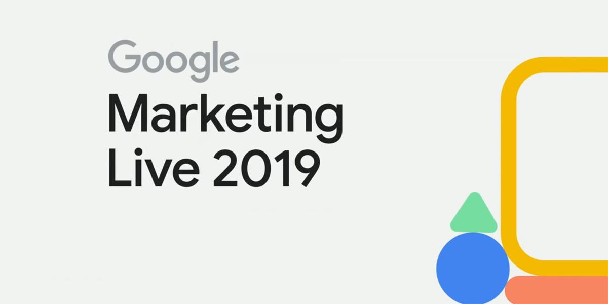Google Marketing Live 2019 Ad Banner